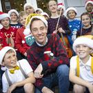 Ryan Tubridy at the Late Late Toy Show auditions