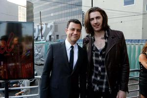 Jimmy Kimmel and Hozier