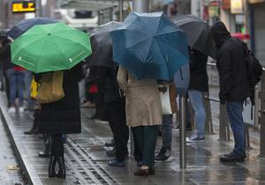 Umbrellas will be needed once again, with more rain forecast