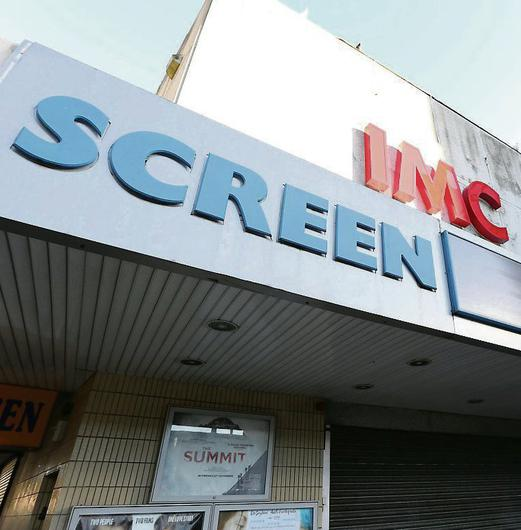 The screen cinema in Dublin which has had its sign changed. Photo: Damien Eagers