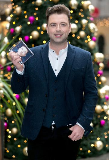 Mark Feehily at the launch of his latest album