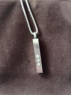 The locket she lost on a trip to Liffey Valley