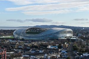 The Aviva Stadium will host rescheduled Euro 2020 matches