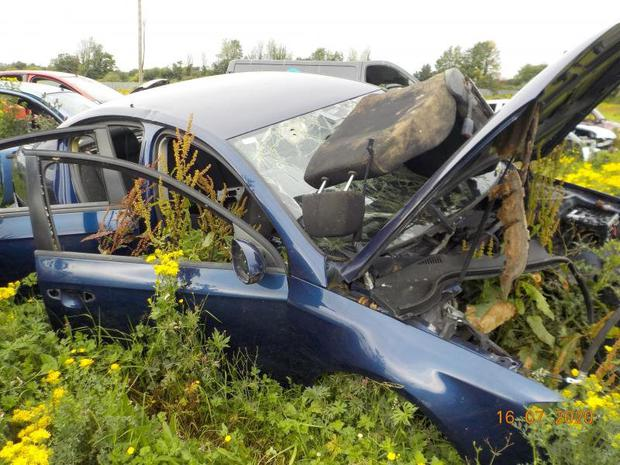 200 end-of-life vehicles were removed from the site on Dunsink Lane, Finglas