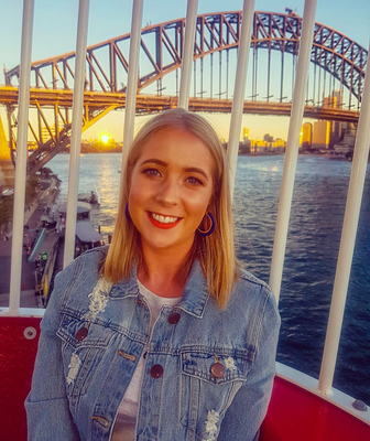 Aoife Rafter in Sydney