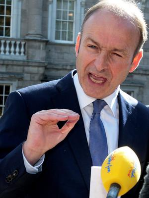 Mary Cowen warned Micheal Martin to 'watch his back' (Tom Burke)