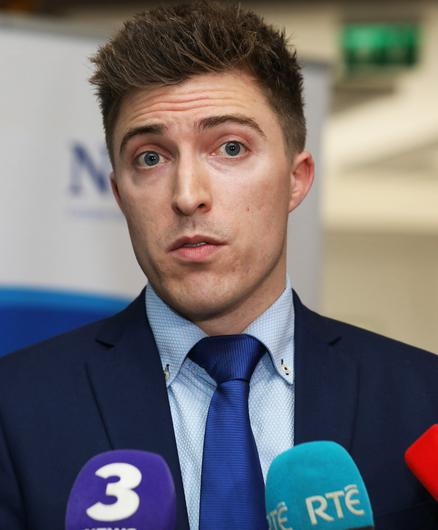 Maitiú Ó Tuathail was given a copy of the new GP contract