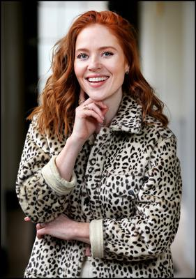 Angela Scanlon saw off competition from stars including Jennifer Zamparelli to host her new chat show