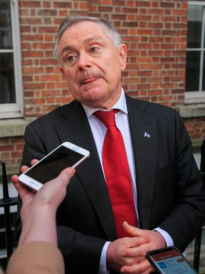 Brendan Howlin would be entitled to a substantial pension