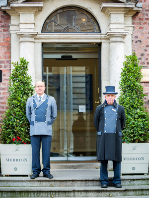 The five-star Merrion Hotel will accommodate RTE guests