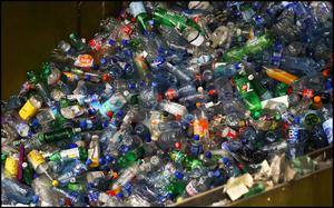 Only a third of plastic packaging was recycled, figures show