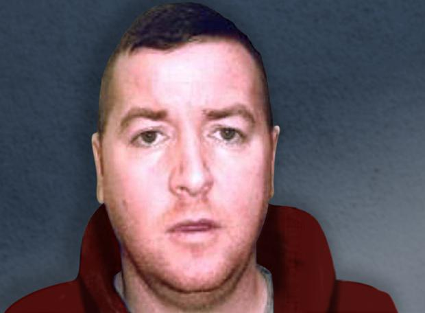 The suspect was an associate of slain gangsters Richie Carberry and Sean Dunne