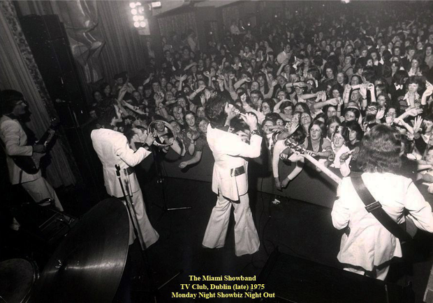 The Miami Showband back in action in 1975 after the attack