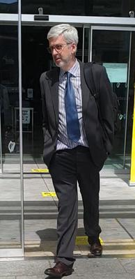 Richard Quigley was also fined €1,000 over the incident