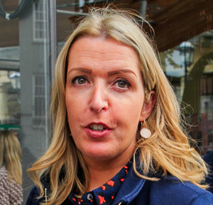 Cancer patient and campaigner Vicky Phelan