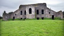 The remains of the Hellfire Club at Montpelier Hill