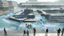 The proposed White-Water Centre at George's Dock in Dublin