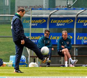 Martin O'Neill, Roy Keane and Steve Walford were among those involved in the crash