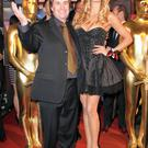 Singer Chris De Burgh and daughter Rosanna Davison attend the Lambertz Monday Night 2011 Schoko & Fashion party at the Alten Wartesaal on January 31, 2011 in Cologne, Germany.
