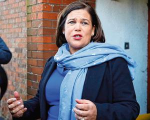 Sinn Féin leader Mary Lou McDonald was quizzed on the actions of TD Brian Stanley