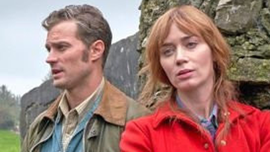 Dornan and Blunt in the new movie Wild Mountain Thyme