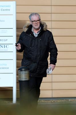 Bernard Conway was charged with stealing flowers from Aldi