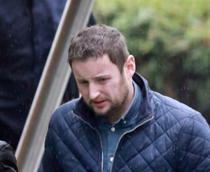Luke O'Farrell is also charged with handling stolen laptops
