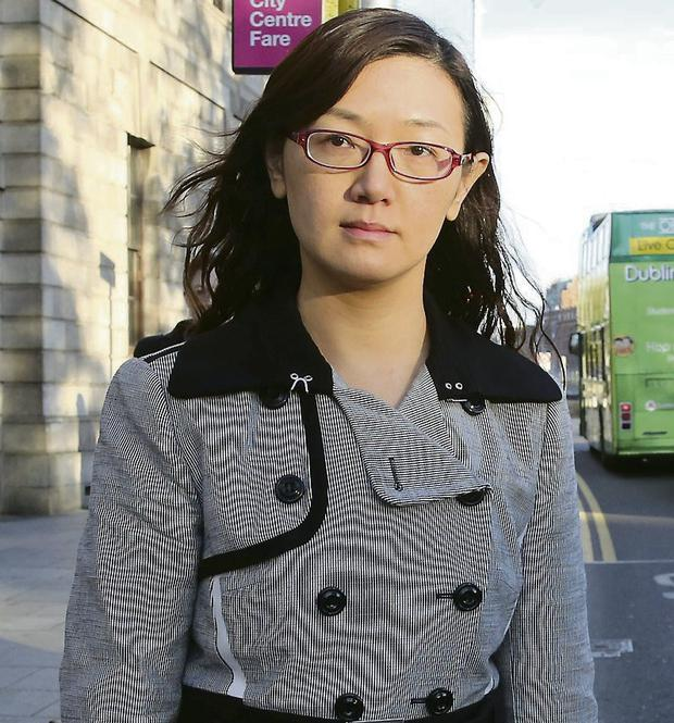 REMORSE: Sonya Hui Wang was ordered to donate €1,500 to the Fr Peter McVerry Trust