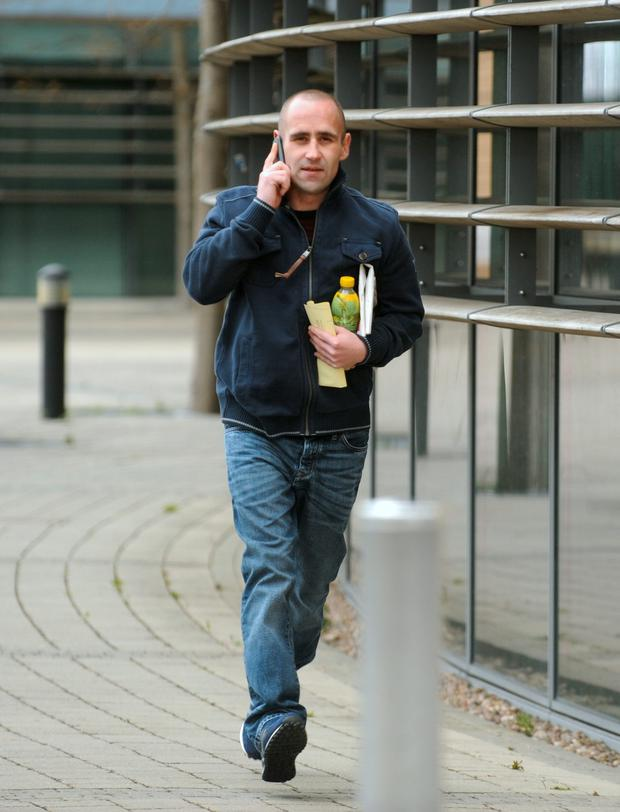 Clive Sweeney (31) claimed he had the mobile phone because he wanted to keep in touch with his mother who was sick with cancer