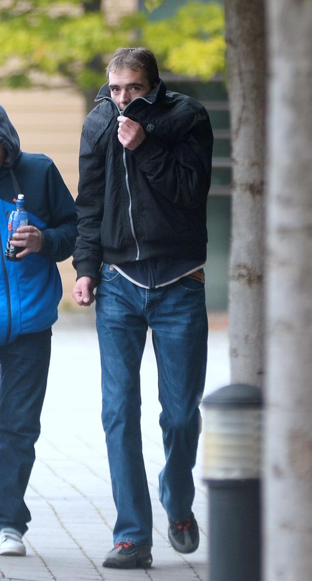 Eamon Kane is accused of assault at the Liffey Valley Centre