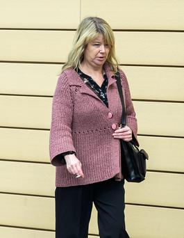 Patricia O'Beirne pleaded guilty to assaulting a garda