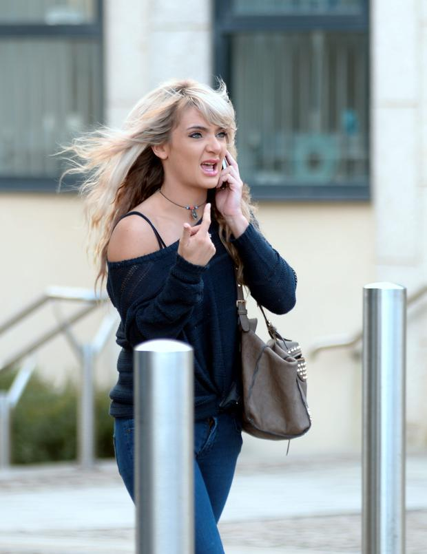 Hairdresser Ella Lockhart admitted stealing clothes worth €45