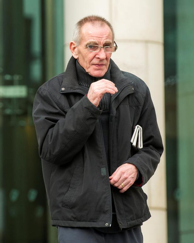 George Courtier was remanded in custody