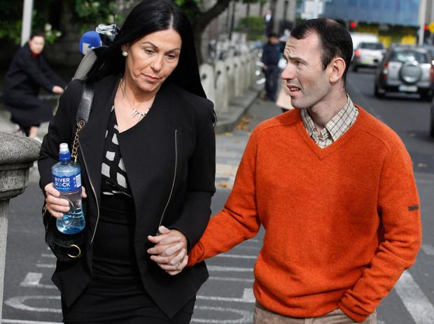 Leon Keogh with his mother, Natalie O'Hanlon Picture: Maxwells
