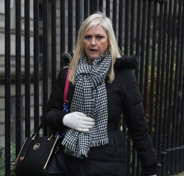Ms Jepson was now on welfare of €237 a week, the court heard Picture: Collins