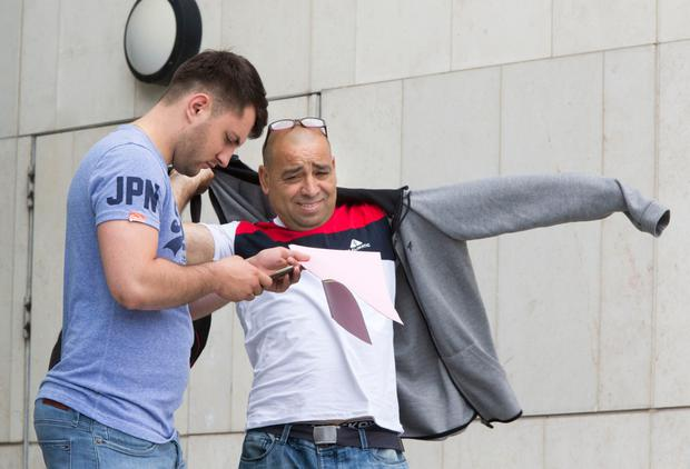Lucian Ciobanu and Vasile Pascu charged with theft