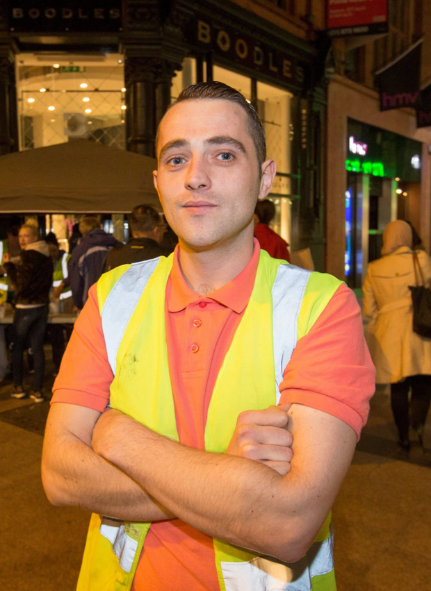Darren Bradley was recognised for helping the homeless