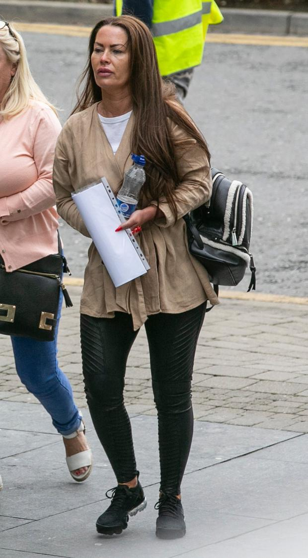 Denise Reilly (38) allegedly drove a car at the garda
