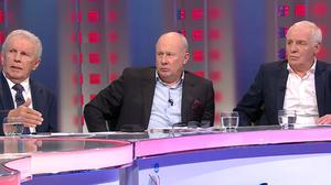 John Giles, Liam Brady and Eamon Dunphy will be back on our screens
