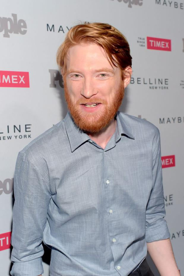 Actor Domhnall Gleeson attends PEOPLE's Ones To Watch Event on September 16, 2015 in West Hollywood, California. (Photo by Jason Kempin/Getty Images