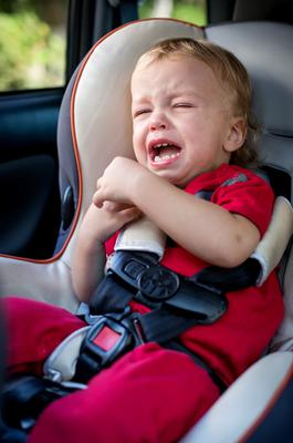 Babies innocently given keys can lock themselves in a car
