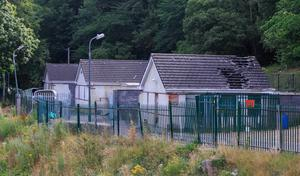 Silverbridge halting site, where the tragedy happened