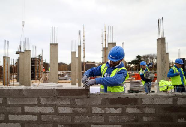 A Cairn Homes building site