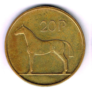 The trial 20p coin up for sale