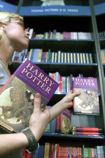 Harry Potter is under fire