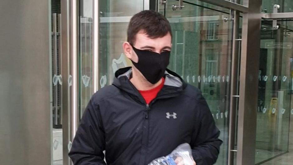 Sean Costello is charged with causing serious harm