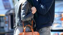 Michael Fassbender out with girlfriend Alicia Vikander in Soho, NYC. New York, New York