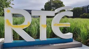 The graffiti at RTE