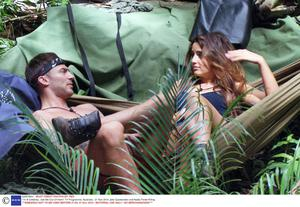 Jake Quickenden and Nadia Forde flirting