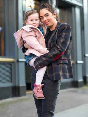 Lyndsey Robinson with her two-year-old daughter Kali-Leigh